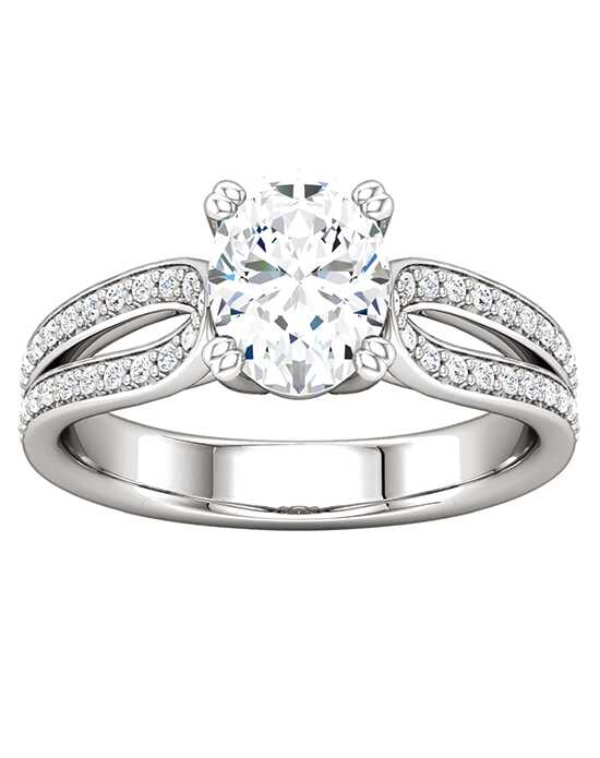 ever&ever Elegant Princess, Asscher, Cushion, Emerald, Heart, Marquise, Pear, Round, Oval Cut Engagement Ring