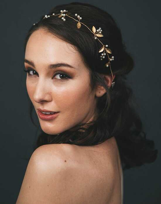 Davie & Chiyo | Hair Accessories & Veils Adelia Hair Vine Gold, Pink, Silver Headband