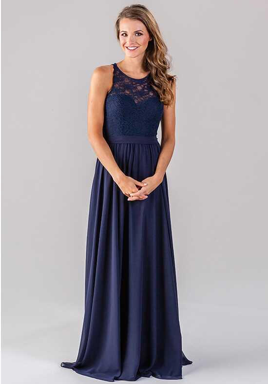 Kennedy Blue Delilah Illusion Bridesmaid Dress