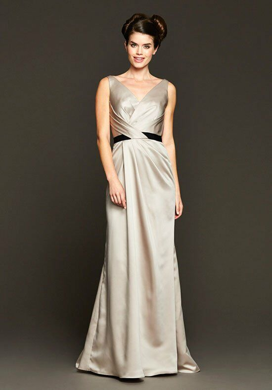 Badgley Mischka BM15-13 V-Neck Bridesmaid Dress