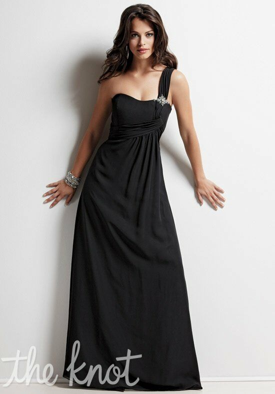 Jordan 363 One-Shoulder Bridesmaid Dress
