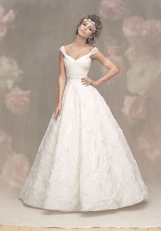 Allure Couture C464 A-Line Wedding Dress