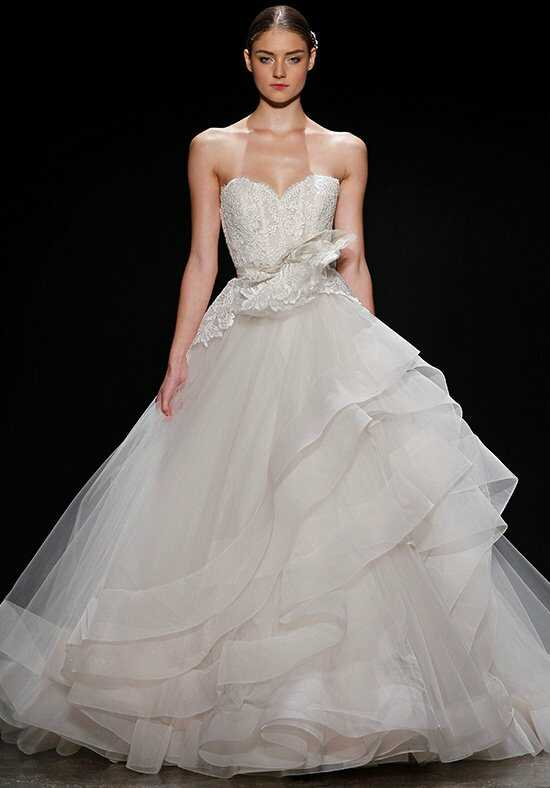 Lazaro 3413 Ball Gown Wedding Dress