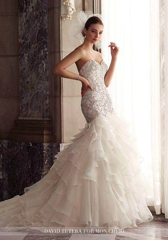 David Tutera For Mon Cheri 117277 Dior Mermaid Wedding Dress