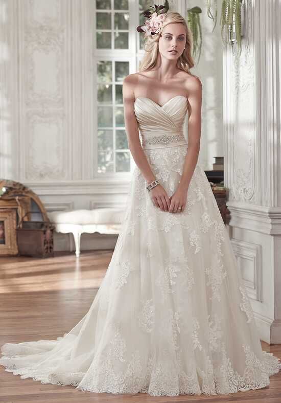 Maggie Sottero Kamiya A-Line Wedding Dress