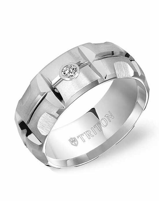 Triton 22-4823HC-G Tungsten Wedding Ring