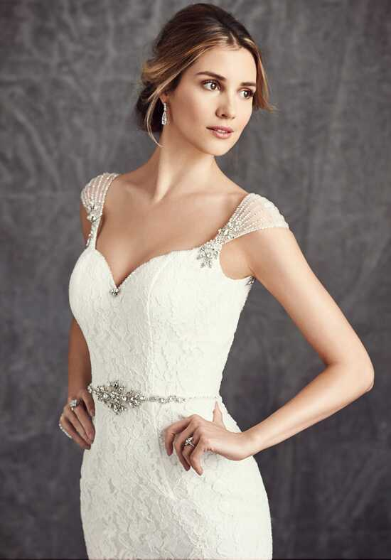 Kenneth Winston: Ella Rosa Collection BE282 Sheath Wedding Dress