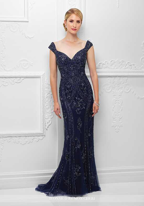 Ivonne D. 117D67 Blue Mother Of The Bride Dress