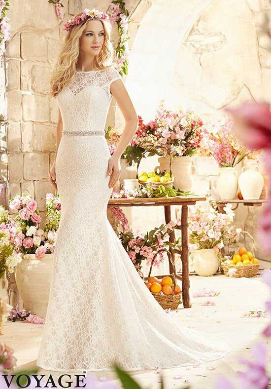 Morilee by Madeline Gardner/Voyage 6804 Sheath Wedding Dress