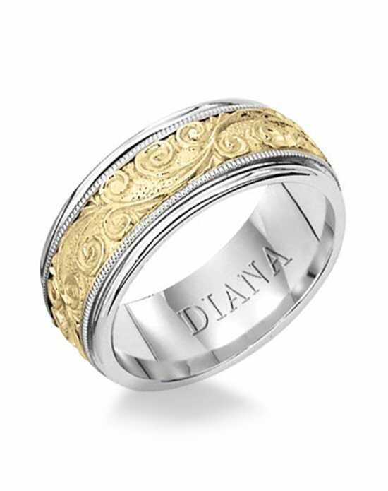 Diana 11-N1041-G Gold Wedding Ring