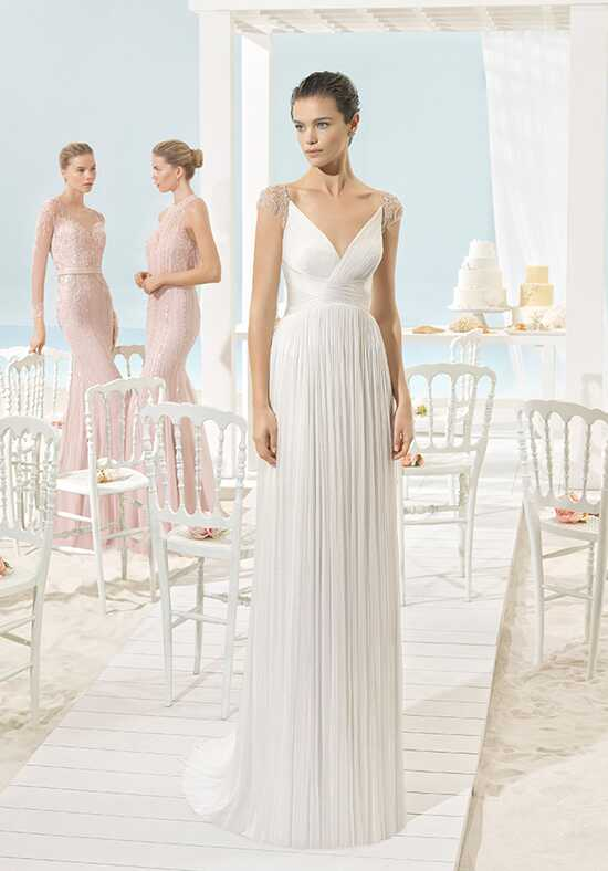 Aire Beach Wedding Xant Sheath Wedding Dress