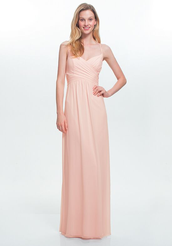 #LEVKOFF 7020 V-Neck Bridesmaid Dress