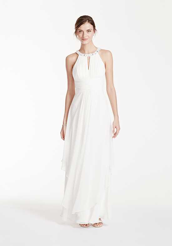 David's Bridal DB Studio Style EJ4M6307 Sheath Wedding Dress
