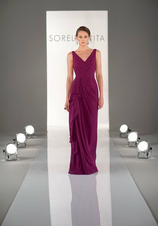 Sorella Vita 8338 V-Neck Bridesmaid Dress
