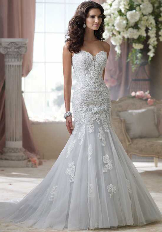 David Tutera for Mon Cheri 114293 Mermaid Wedding Dress