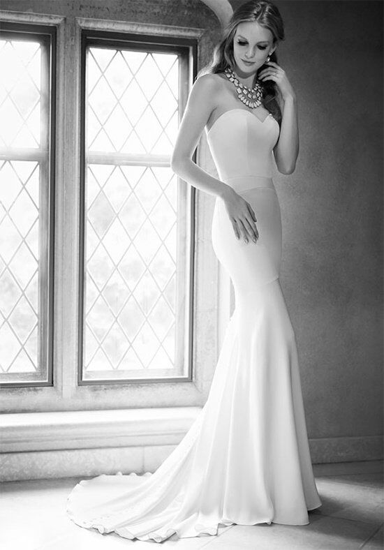 Martina Liana 647 Sheath Wedding Dress