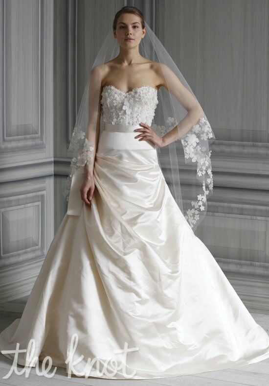 Monique Lhuillier Poppy A-Line Wedding Dress