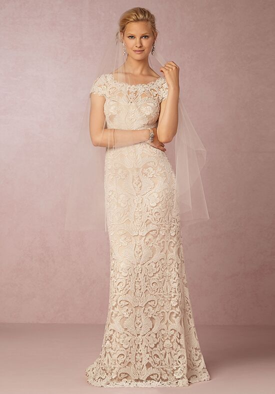 Bhldn august gown wedding dress the knot for How do you preserve a wedding dress
