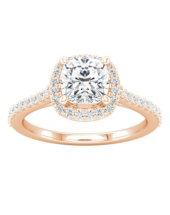 ever&ever Elegant Cushion Cut Engagement Ring