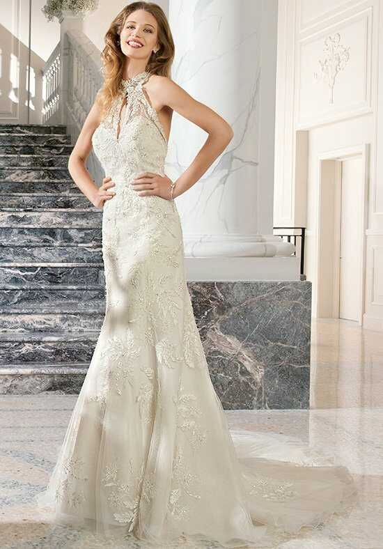 Demetrios C215 Sheath Wedding Dress