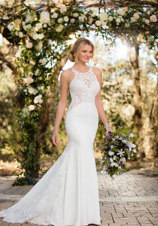Essense of Australia D2342 Sheath Wedding Dress