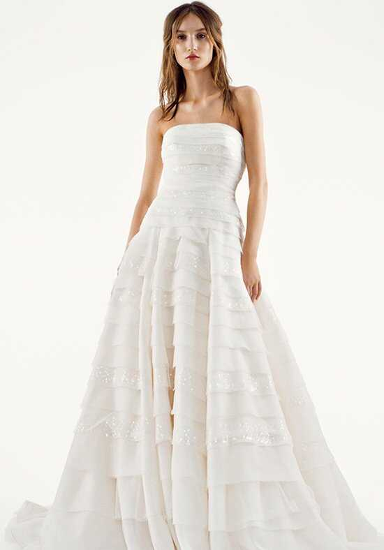 White by Vera Wang VW351221 Wedding Dress photo
