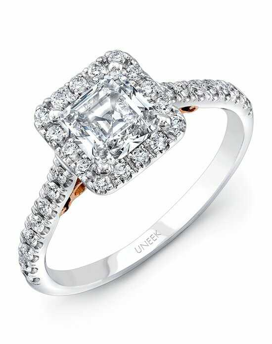 uneek fine jewelry - Princess Wedding Ring