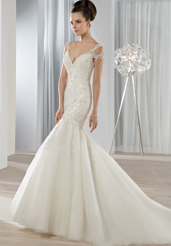 Demetrios 610 Mermaid Wedding Dress