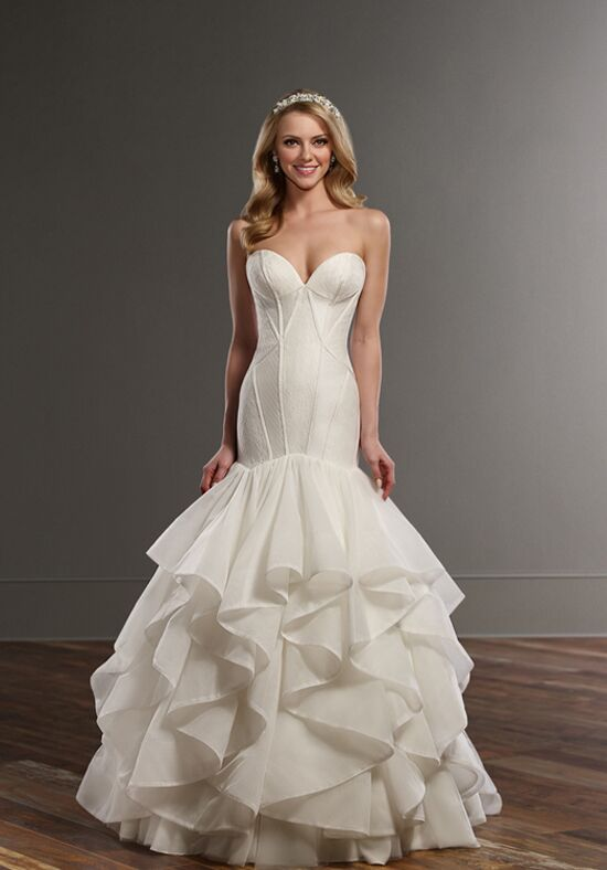 Martina Liana 807 Mermaid Wedding Dress