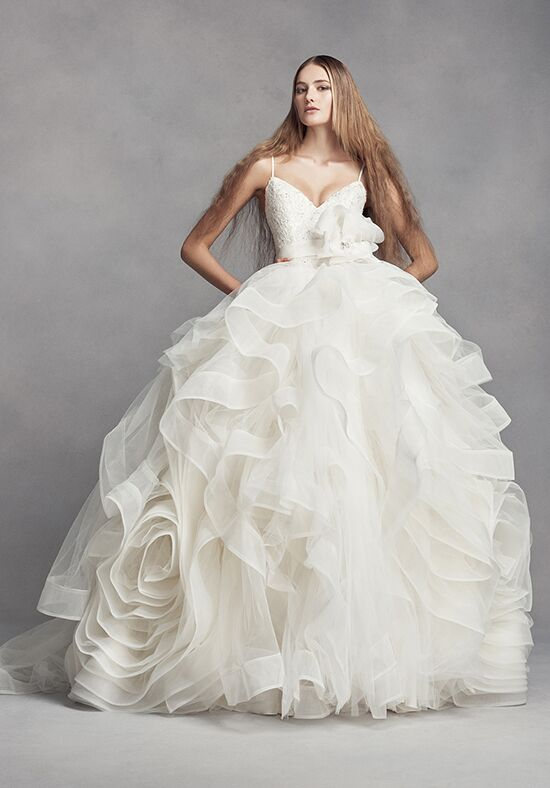 White by vera wang white by vera wang style vw351371 for Price of vera wang wedding dress