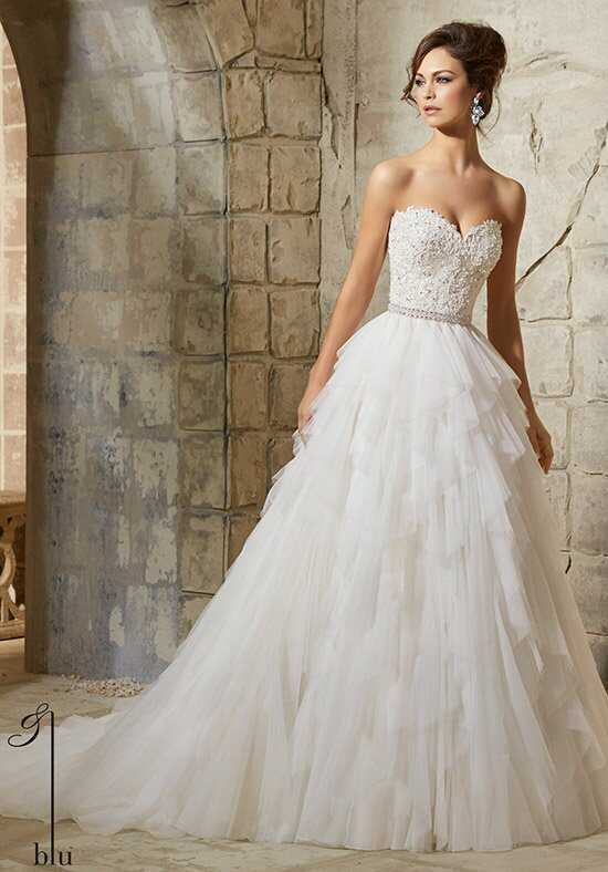 Morilee by Madeline Gardner/Blu 5366 Ball Gown Wedding Dress