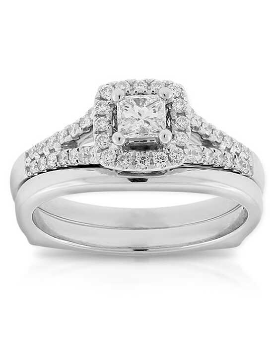 Ben Bridge Jeweler Vintage Round Cut Engagement Ring