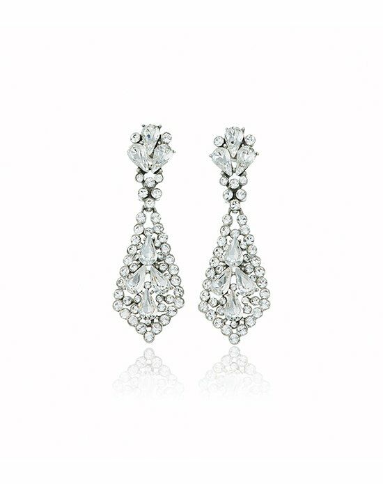 Thomas Laine Ben-Amun Crystal Kite Earrings Wedding Earring photo