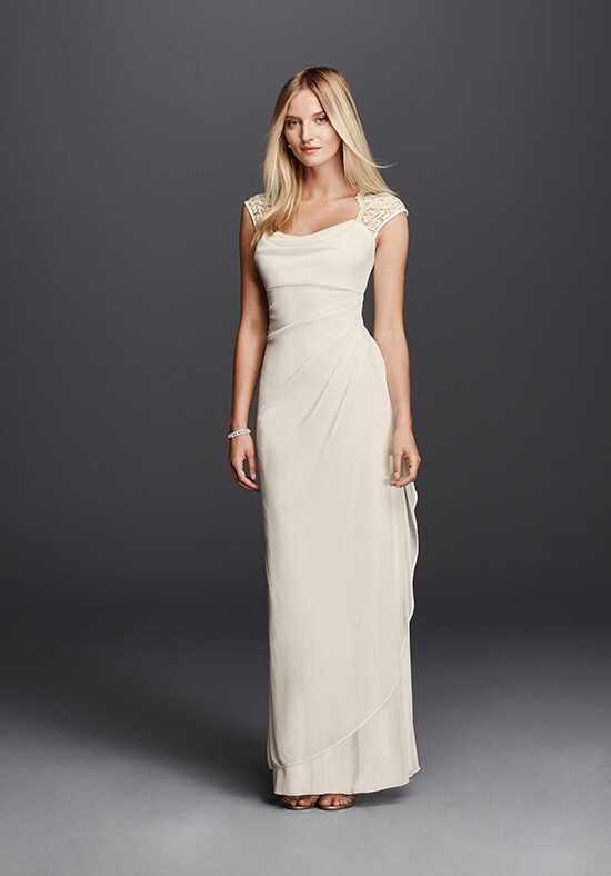 David's Bridal David's Bridal Collection Style XS3450 Sheath Wedding Dress