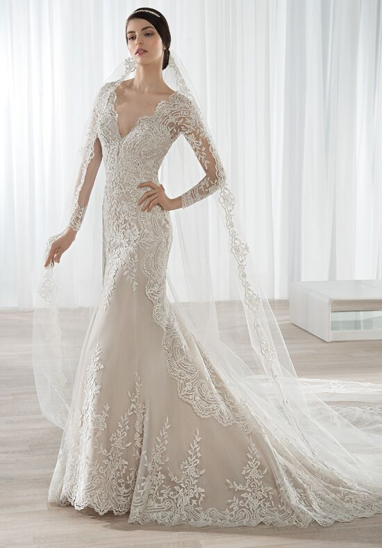 Demetrios 613 Sheath Wedding Dress