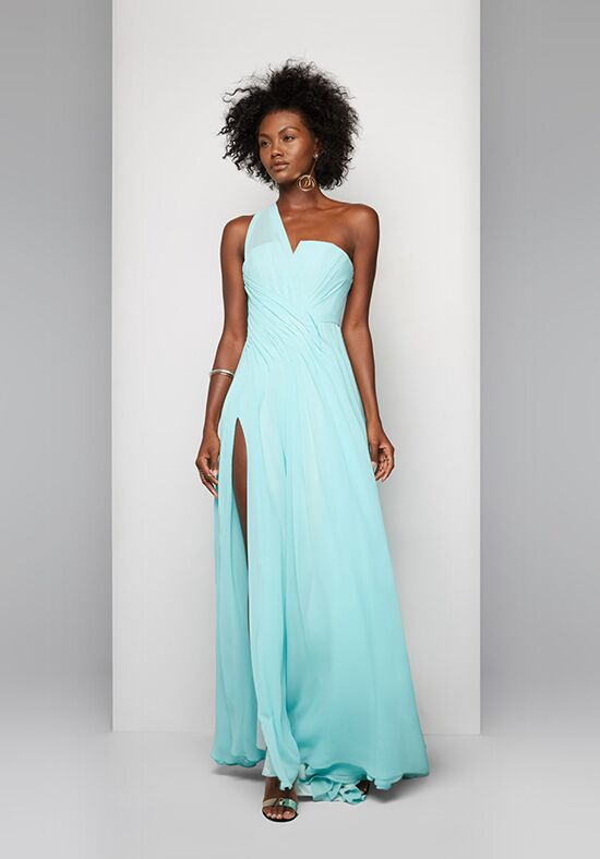 Fame and Partners Bridesmaid Zinnia One Shoulder Bridesmaid Dress