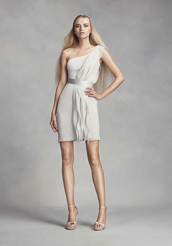 White by Vera Wang Collection White by Vera Wang Style VW360370 One Shoulder Bridesmaid Dress