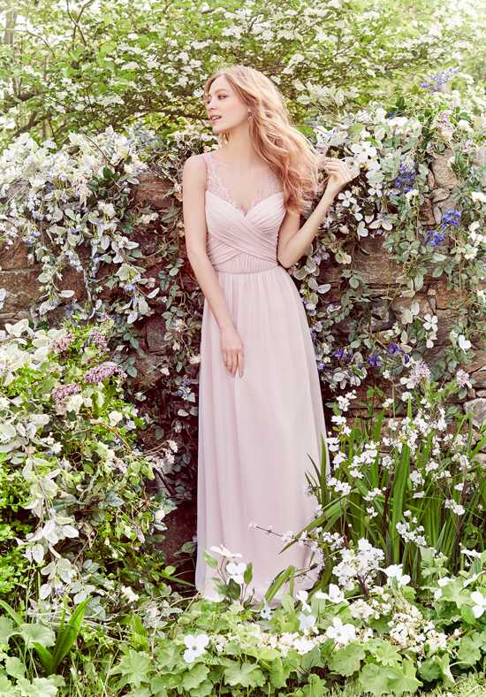 Hayley Paige Occasions 5664 V-Neck Bridesmaid Dress
