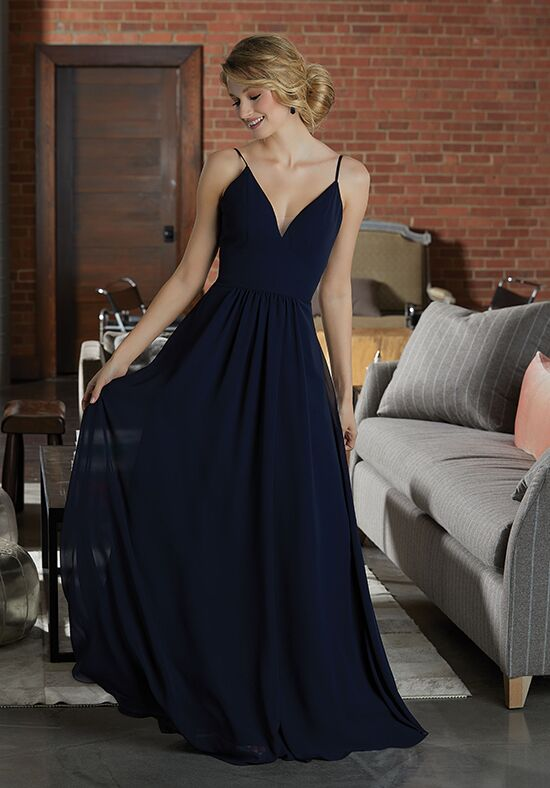 Morilee by Madeline Gardner Bridesmaids 21597 V-Neck Bridesmaid Dress