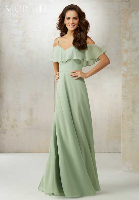Morilee by Madeline Gardner Bridesmaids 21509 Off the Shoulder Bridesmaid Dress