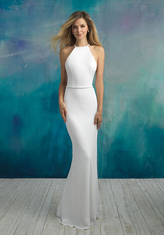 Allure Bridals 9521 Sheath Wedding Dress