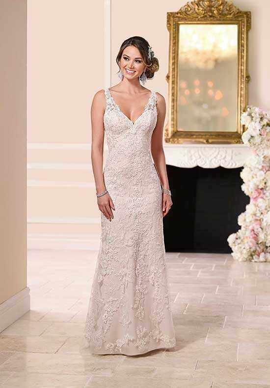 Stella York 6116 Sheath Wedding Dress