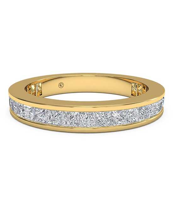 Ritani Women's Channel-Set Princess Diamond Eternity Wedding Ring - in 18kt Yellow Gold - (1.25 CTW) Gold Wedding Ring