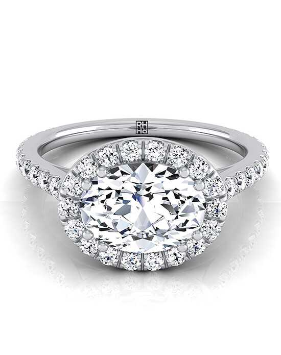RockHer Glamorous Oval Cut Engagement Ring