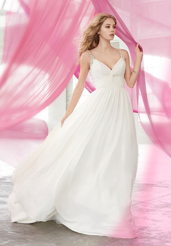 Blush by Hayley Paige 1601 Moonie A-Line Wedding Dress