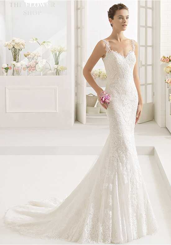 Aire Barcelona Cabriole Mermaid Wedding Dress