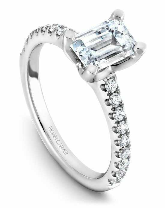 Noam Carver B038-03WS-100A Engagement Ring photo
