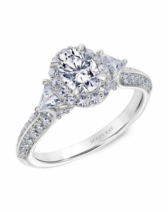 scott kay cut engagement ring - Scott Kay Wedding Rings