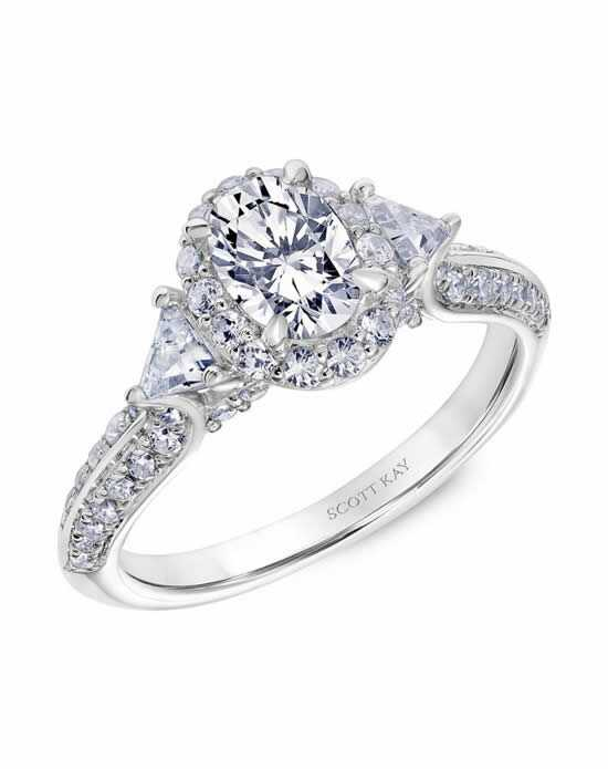 Scott Kay 31-SK5605DVW-E Engagement Ring photo