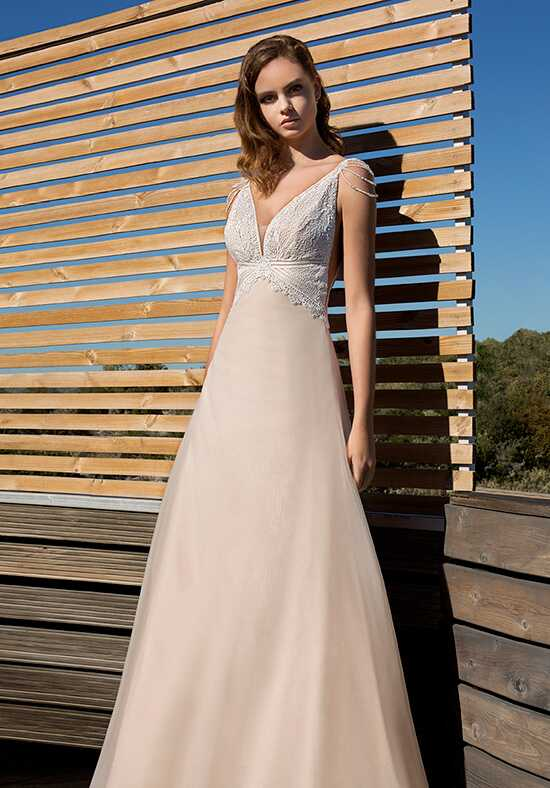 Metropolitan ME125 A-Line Wedding Dress